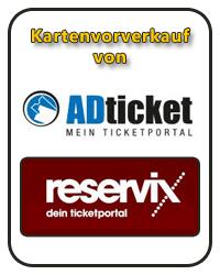 Kartenvorverkauf von ADticket und Reservix bei uns im Ladengeschäft in Schaafheim.