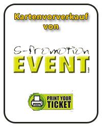 Kartenvorverkauf von S-Promation und Print Yout Ticketbei uns im Ladengeschäft in Schaafheim.