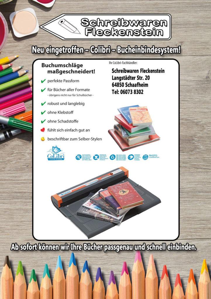 Wir binden Ihr Buch Maßgeschneidert ein, mit unserem Buchbindesystem von Colibri.